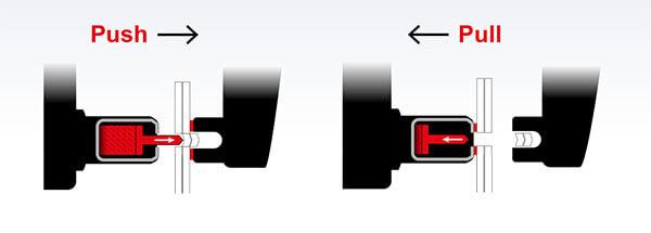 system PUSH-PULL nitownicy GYSPRESS 8T
