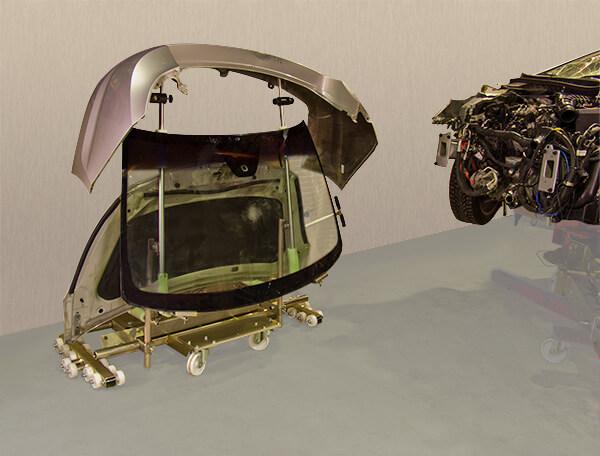712A-4 Zestaw dodatkowy (montażowy i nośny) do wózka