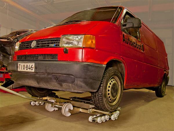 Wielofunkcyjny wózek transportowy do warsztatu 712A